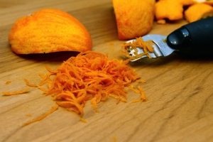 Orange Peel and Orange Zest
