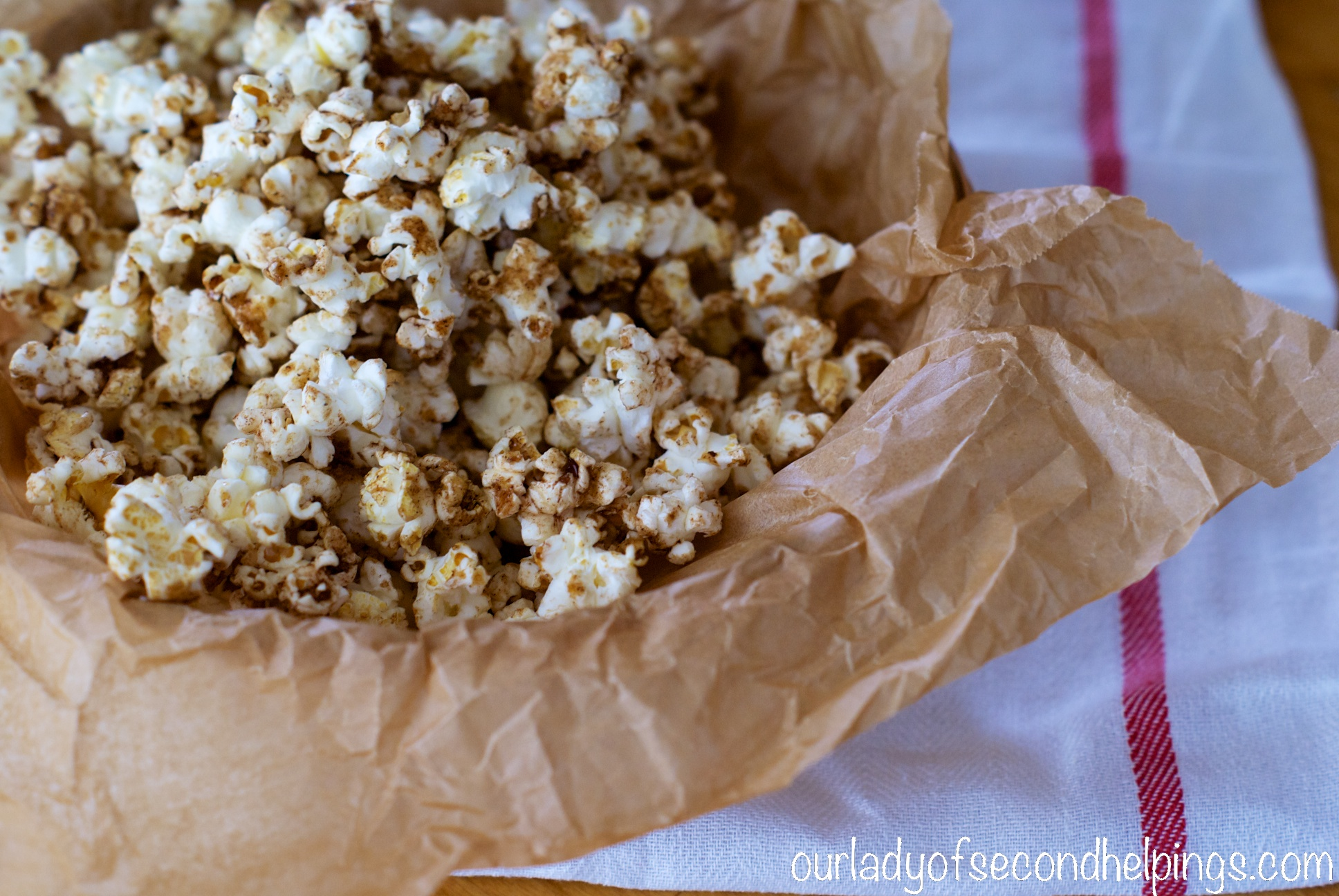 Super Bowl Snacks – Sugar and Spice Popcorn :: Our Lady of Second ...