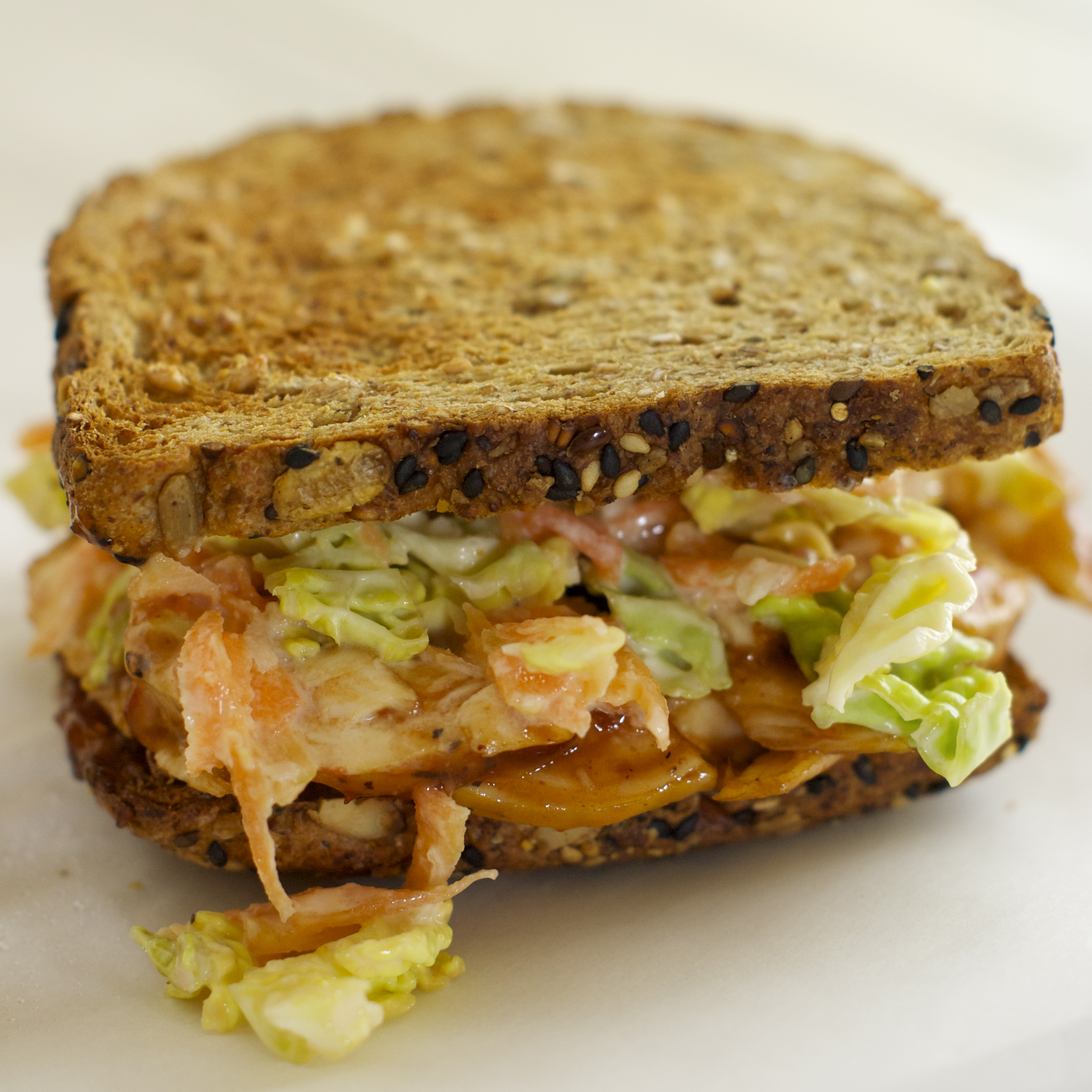 ... coleslaw recipe myrecipes pulled barbecue chicken and coleslaw