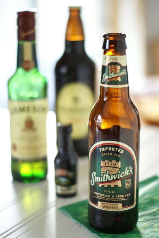Assortment of Irish Bottled Alcohols