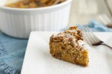 Whiskied Brown Bread Pudding