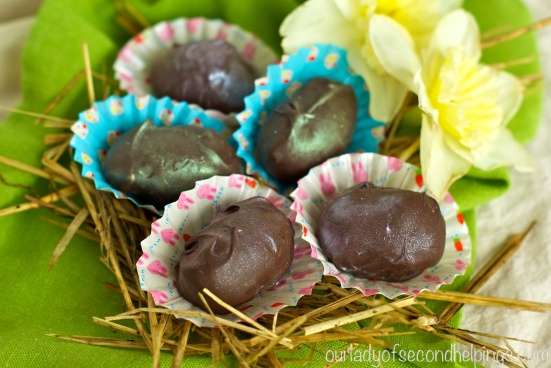 Homemade Cadbury Easter Eggs
