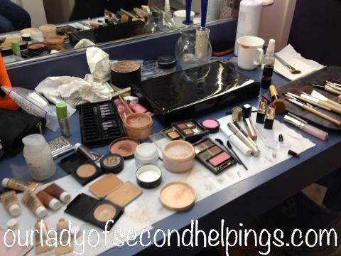 Television Studio Make-up