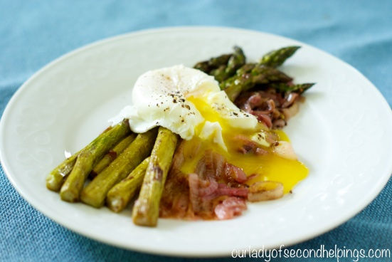 Asparagus Spears with Poached Egg