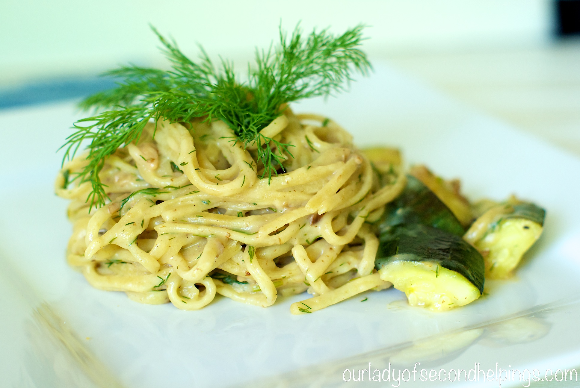 linguini with zucchini and clams