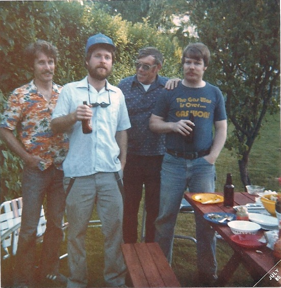 Four Guys at a Picnic