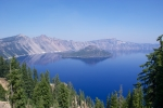 View of Oregon's Crater Lake