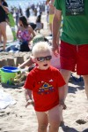 Wearing Shades and Getting Sandy on the Beach
