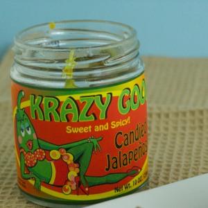 Jar of Candied Jalapeños