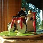 Ceramic Bride and Groom
