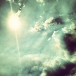 Bright Sun Dark Clouds