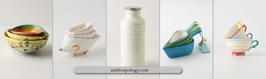 Anthropology Measuring Cups