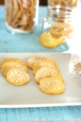 Gifting Sunshine – Candied Citrus