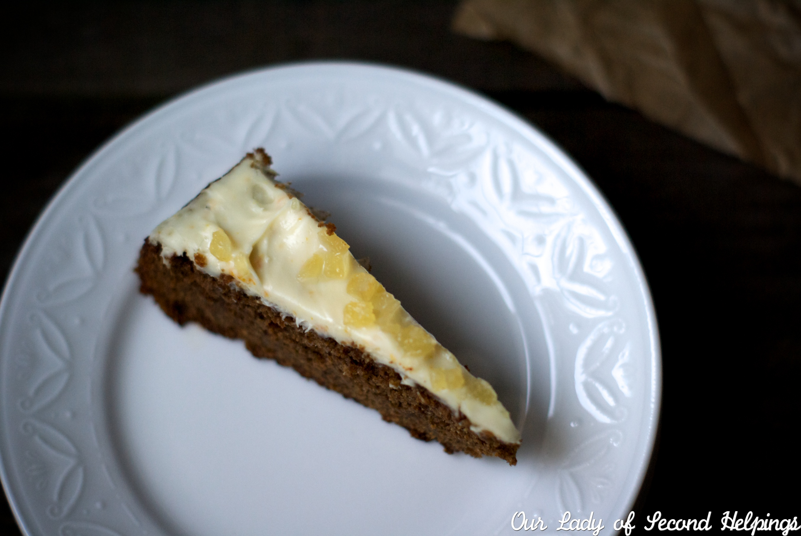 Gingerbread with Light Cream Cheese Frosting :: Our Lady of Second ...