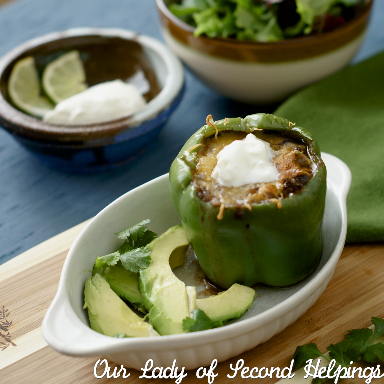 Taco Stuffed Bell Pepper