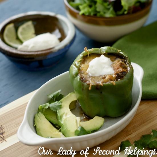Taco Stuffed Bell Pepper