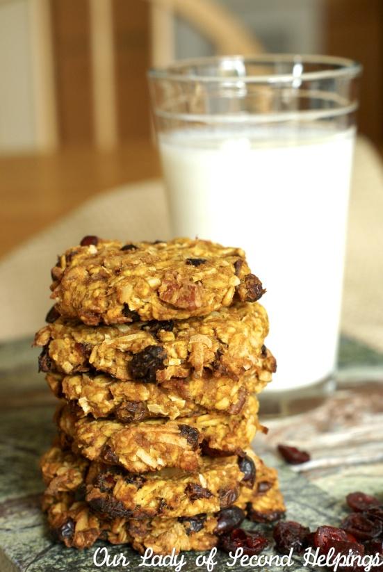 Vegan Coconut Oatmeal Cookies - GF