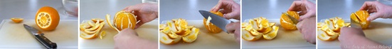 How to cut orange segments
