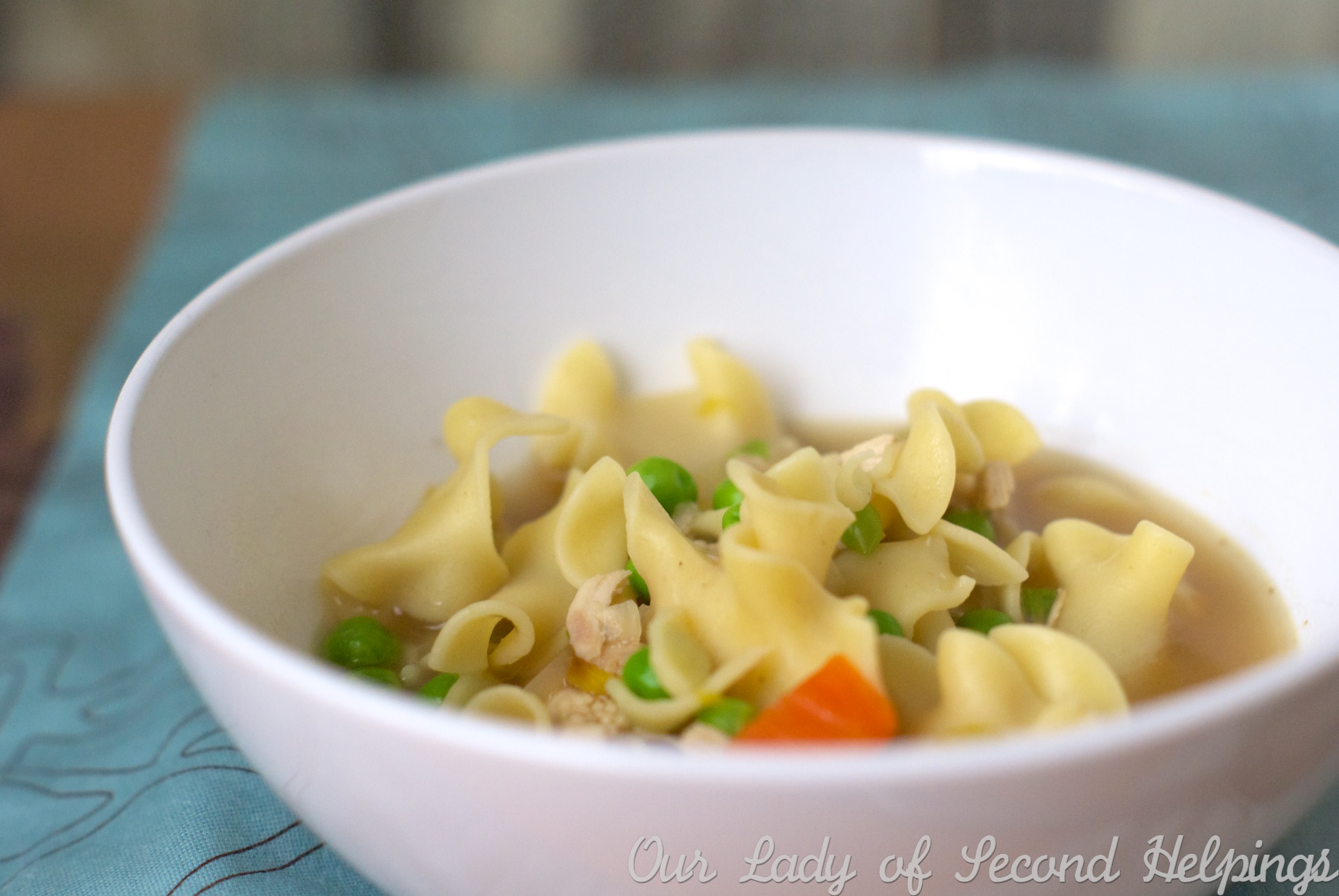 Easy Chicken Noodle Soup | Our Lady of Second Helpings