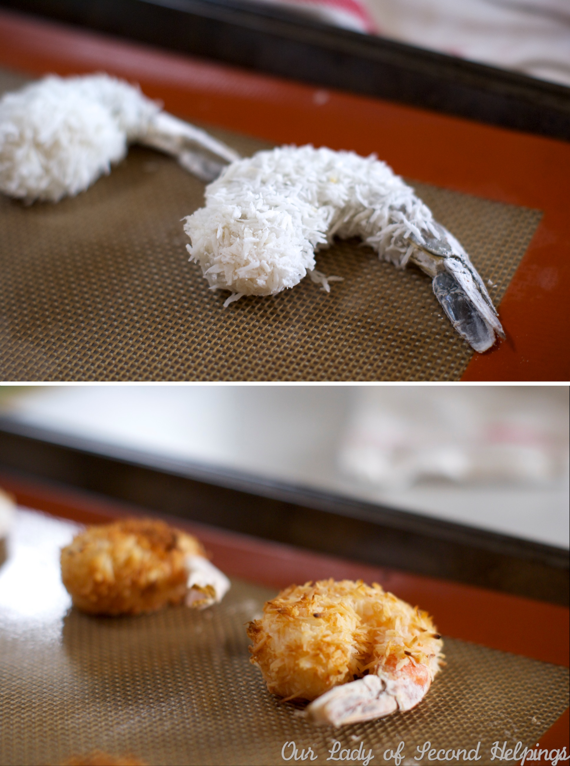 Baked Coconut-Ginger Shrimp