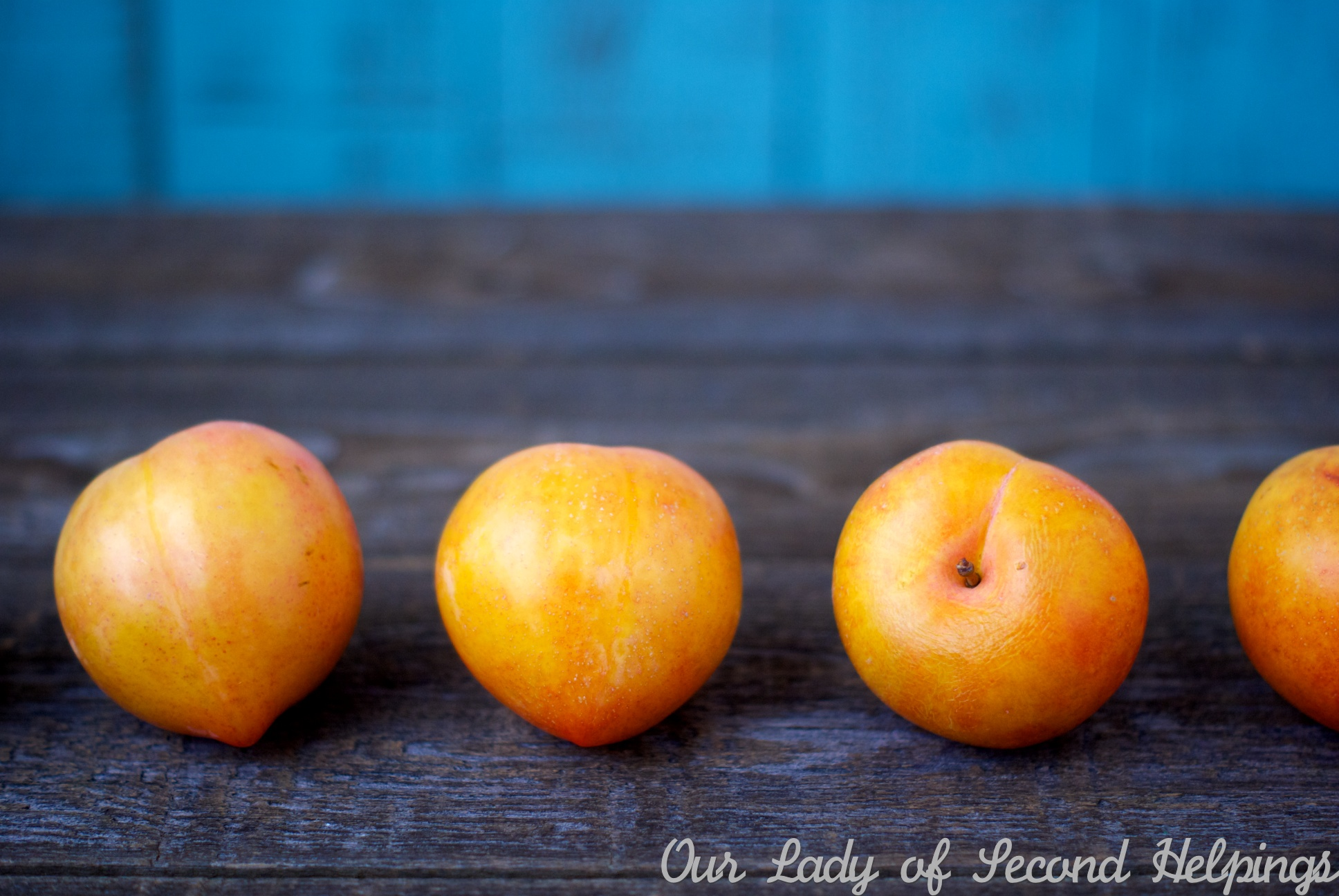Chilean Lemon Plums | Our Lady of Second Helpings
