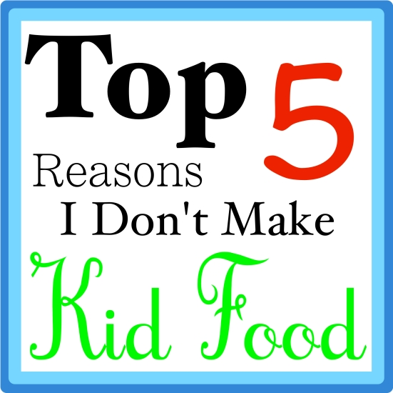 No Kid Food