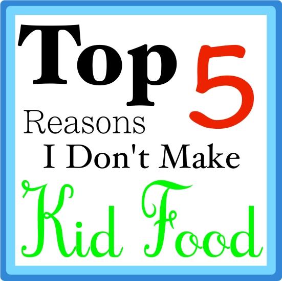 No Kid Food