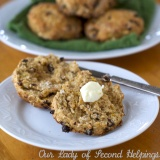 Soda Bread Oat Scones