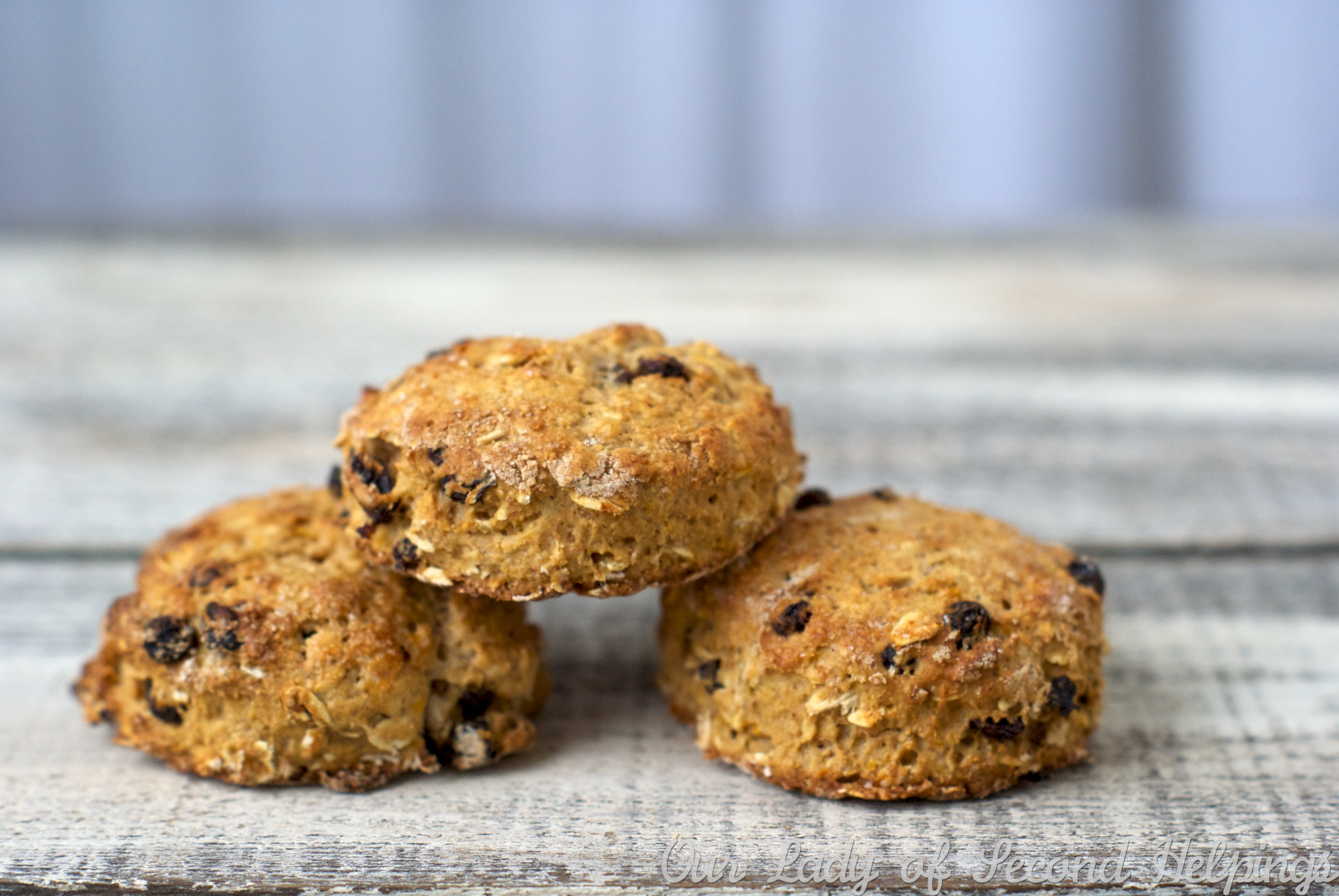Soda Bread Oat Scones | Our Lady of Second Helpings