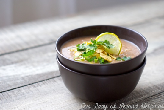 Slow Cooker White Bean Chicken Chili | Our Lady of Second Helpings