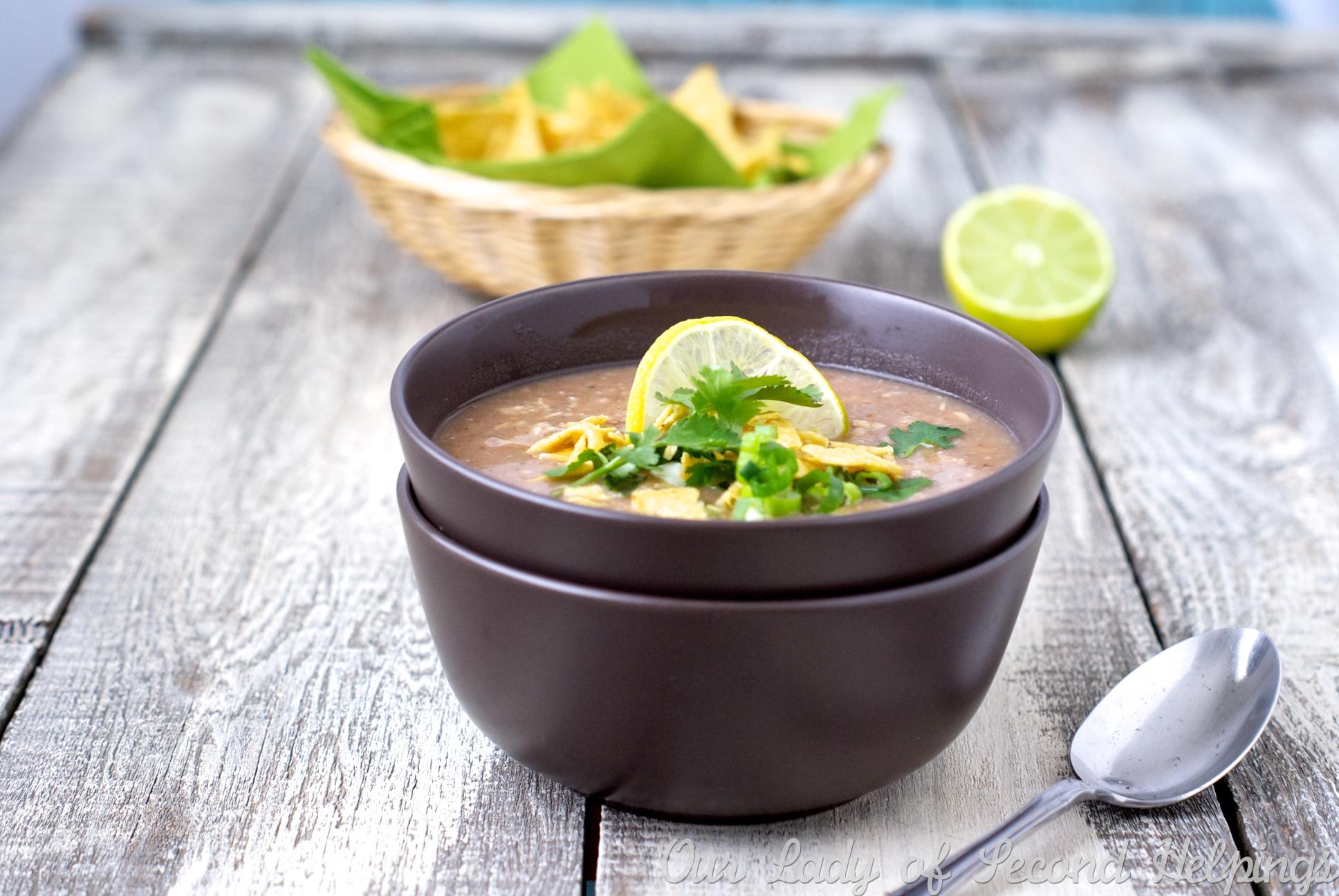 Crock Pot Southwest Bean Soup Half Her Size