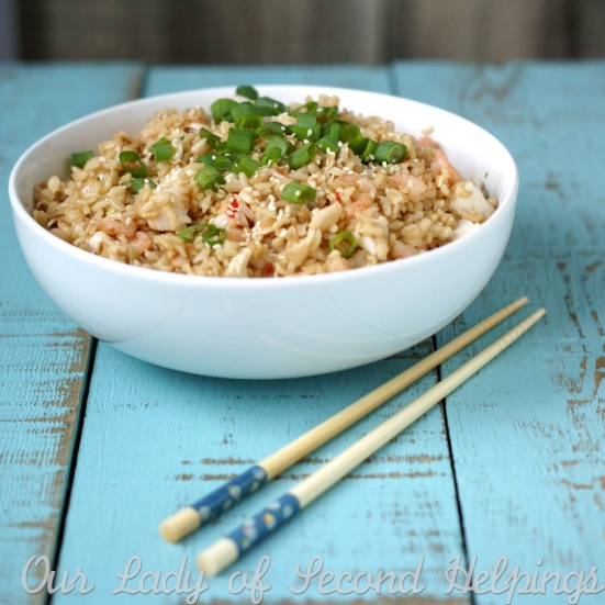 Budget Friendly Shrimp & Rice | Our Lady of Second Helpings