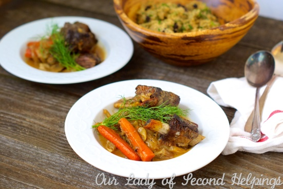 Braised Short Ribs with Fennel and Orange | Our Lady of Second Helpings