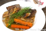 Orange Braised Beef Short Ribs with Fennel & Carrots