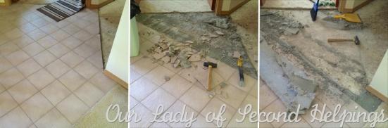 Ceramic Tile Removal