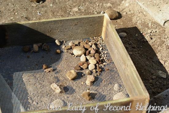 Upcycled - Garden Sieve