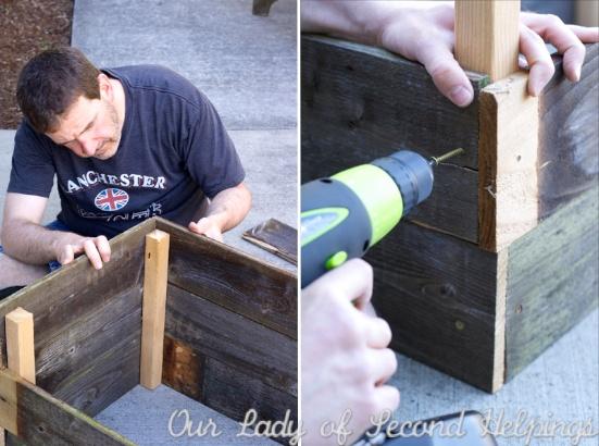 Upcycling - Cedar Garden Boxes