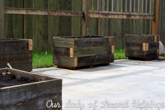 Upcycled - Cedar Garden Boxes