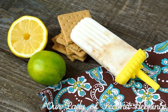 Lemon-Lime Pie Creamsicles | Our Lady of Second Helpings