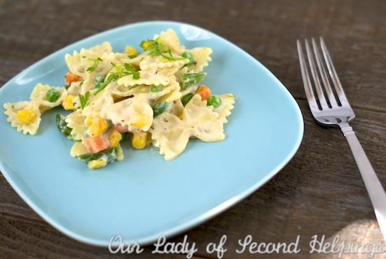 Easy-Cheesy Stove Top Pasta | Our Lady of Second Helpings