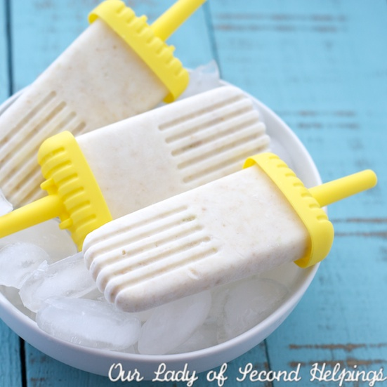 Sugar Free Lemon-Lime Cream Pops | Our Lady of Second Helpings