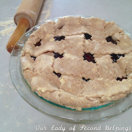 Fresh Blackberry Pie | Our Lady of Second Helpings