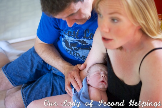 Welcome Baby Scoop | Our Lady of Second Helpings
