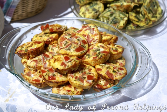 Muffin Pan Frittatas | Our Lady of Second Helpings
