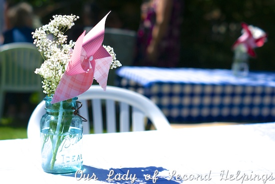 Decorate with baby's breath for a baby shower | Our Lady of Second Helpings