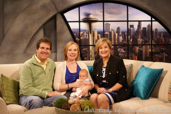 Our Lady of Second Helpings creator Rose McAvoy (and family) Appearing on New Day NW | Our Lady of Second Helpings