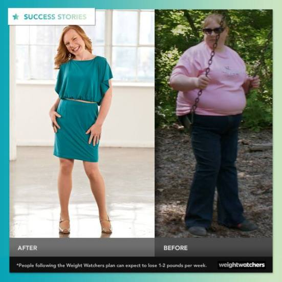 She lost more than 50% of her body weight - Weight Watchers Success Story