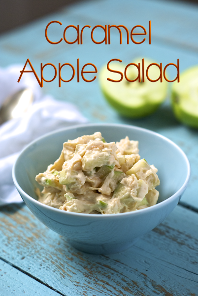 Caramel Apple Salad includes recipe for homemade cool whip!
