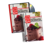 KCTS Cooks Just Desserts Cookbook & DVD combo