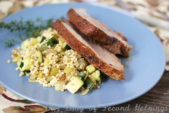Brown Sugar and Chili Dry Rubbed Pork | Our Lady of Second Helpings